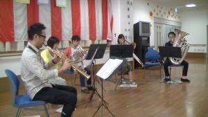 2015/09/19 あじさいガーデン伏見さん依頼演奏2